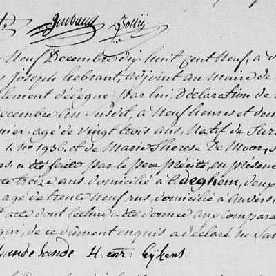 HenricusSuanet18121809Antwerpen