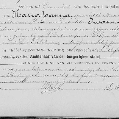 MariaJoannaSwannet18121909Antwerpen