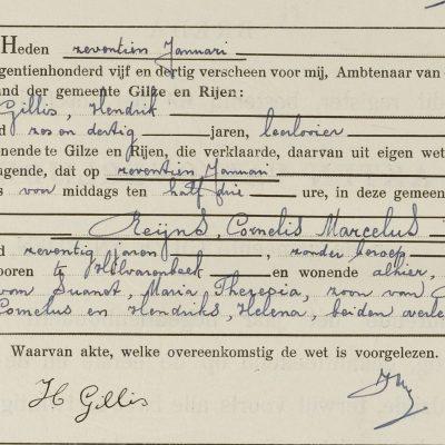 CornelisMarcelusReijns17011935Gilze-Rijen
