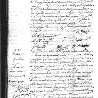 JacobusAntoniusSwannetxMariaHenricaTyriard11041853Turnhoutdeelb