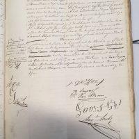 Notarisakte Petrus Josephus Suanet pagina 3 van 3
